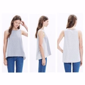 Madewell forward seam tank